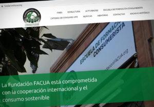 web de la Fundación FACUA